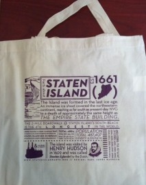 Staten Island Facts Tote
